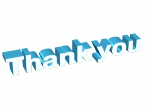 Thank you, 3D, Blue - High quality royalty free images resources for commercial and personal uses. No payment, No sign up.