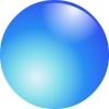 Ball, Illust, Blue - Please click to download the original image file.