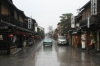 Kyoto, Japanese street, Rainy - Please click to download the original image file.