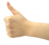 Thumb up, Fist, Hand - Please click to download the original image file.