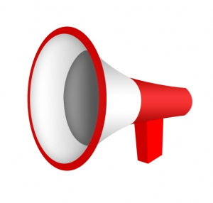 Megaphone, Notice, 3D - High quality royalty free images resources for commercial and personal uses. No payment, No sign up.