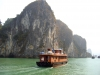 Vietnam, Halong Bay, Ship - Please click to download the original image file.