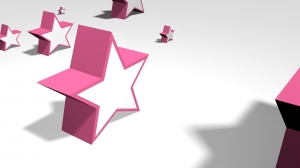 Stars, 3D, Pink - High quality royalty free images resources for commercial and personal uses. No payment, No sign up.
