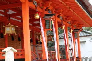 Japanese temple, Kyoto, Fushimiinari jinjya - High quality royalty free images resources for commercial and personal uses. No payment, No sign up.