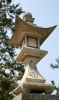 A stone lantern, Miyajima, Hiroshima - Please click to download the original image file.